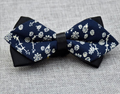Men's Medium Cotton Pre-Tied Bow Tie