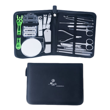 Unisex Stainless Steel 20 Piece Manicure & Pedicure Set