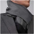 White Black Mens Silk Scarf - Designer neck scarf for winters