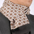 Tan Brown Mens Silk Scarf - Designer neck scarf for winters