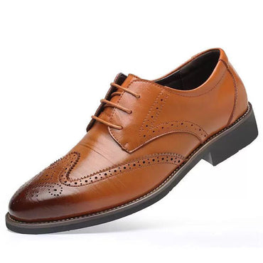 Comfortable Walking Modern Men's Leather Lace Up Shoes for Formal or Casual - Amedeo Exclusive