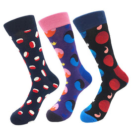 Men's New 3pk Assorted Bundle Soft Socks