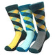 Men's Pattern 3pk Assorted Bundle  Colorful Socks - Amedeo Exclusive