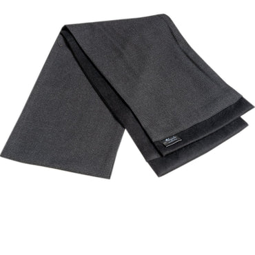 Men Microfiber Soft Comfortable Dary Grey Wool Scarf