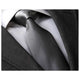 Men's jacquard Turqouise Silver White Neck Tie With Gift Box