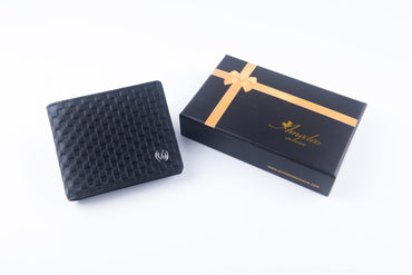 Leather Wallets Black4 -AMLW-0008 - Amedeo Exclusive