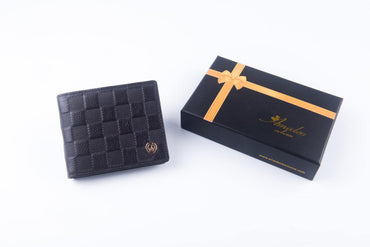 Leather Wallets Brown4 -AMLW-0010 - Amedeo Exclusive