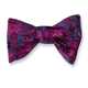 Men's Silk Woven Self Bow Tie Handkerchief