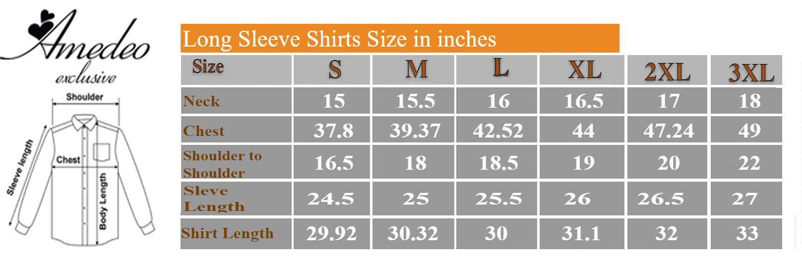 Grey Stars Mens Slim Fit Designer Dress Shirt - tailored Cotton Shirts for Work and Casual Wear - Amedeo Exclusive