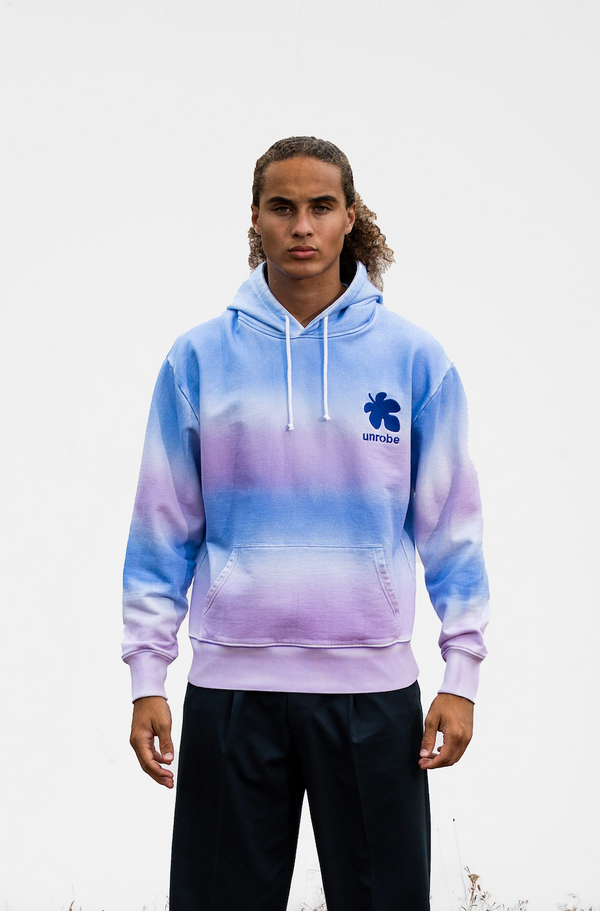 Fig Leaf Hoodie - Spray Gradient