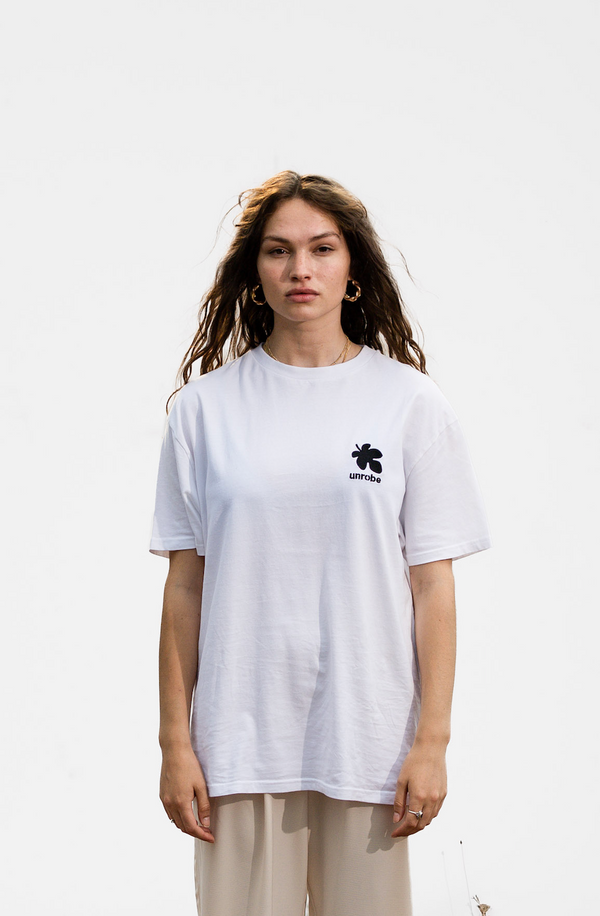 Fig Leaf Tee - White