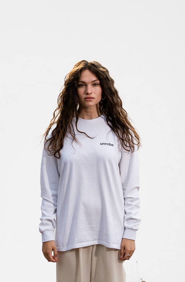 Long Sleeve Tee 'Matisse' - White