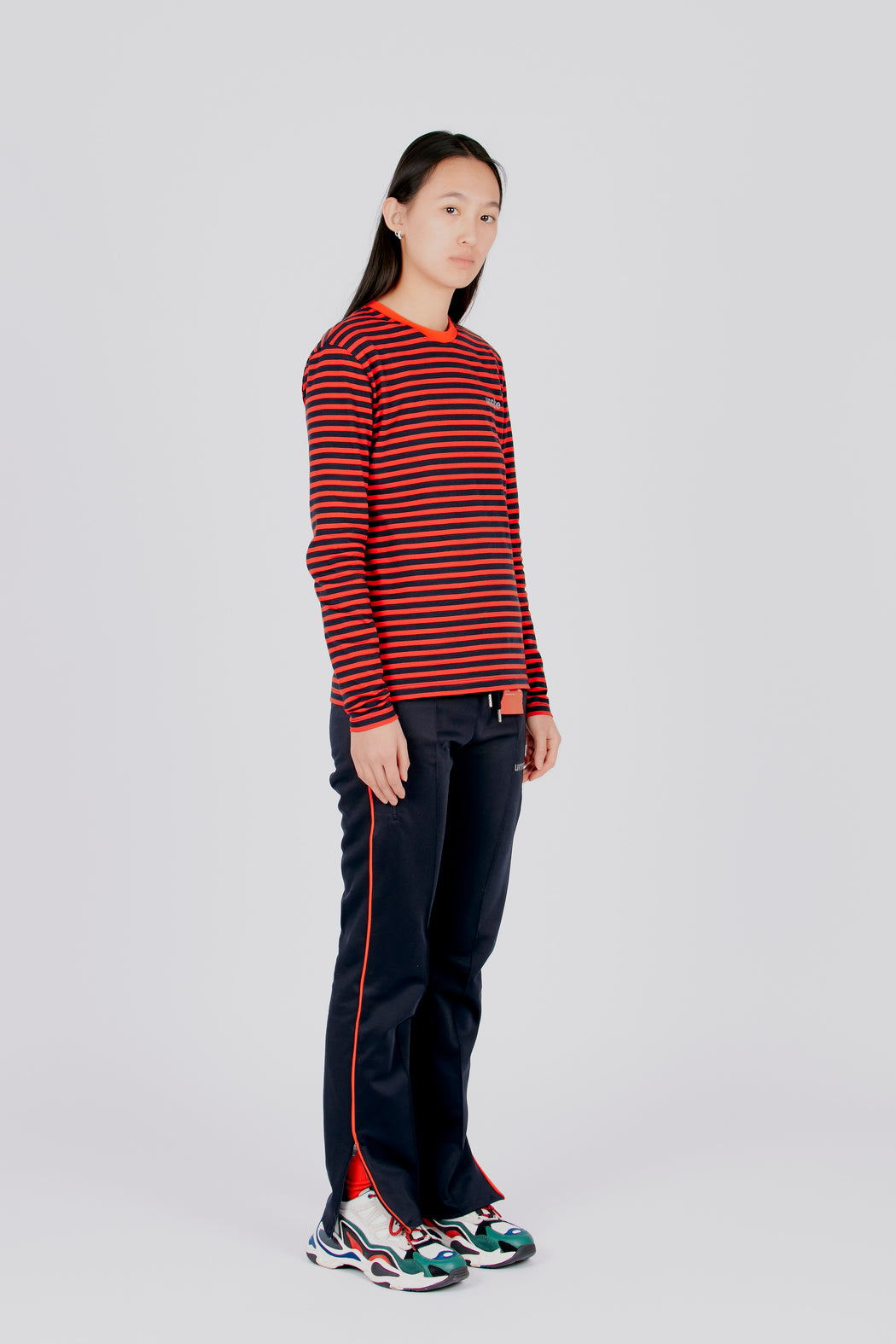 the anna - striped long sleeve tee