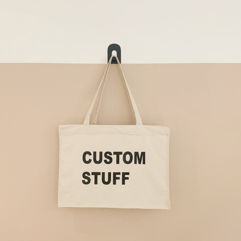 MUM stuff custom personalised tote bag