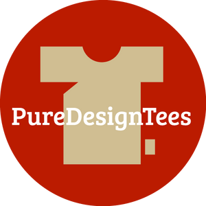 PureDesignTees logo Wear it bold