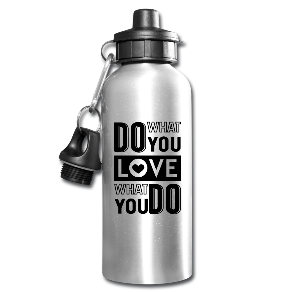 Do What You Love Water Bottle-Water Bottle-PureDesignTees