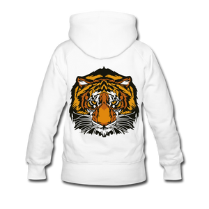 Wild and Free Tiger Women's Premium Hoodie-Women's Premium Hoodie-PureDesignTees