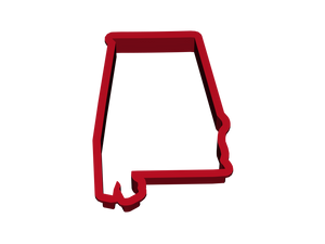State of Alabama Cookie Cutter-Cookie Cutter-PureDesignTees