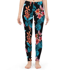Tropical Paradise Women's Yoga Pant-cloth-PureDesignTees
