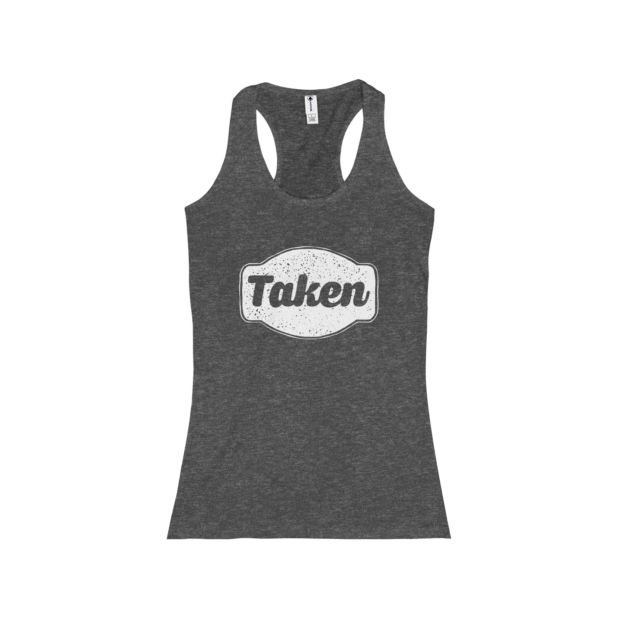 Taken Junior Racerback Tank, Tank Top - PureDesignTees