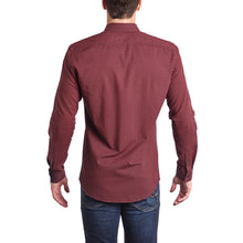 Load image into Gallery viewer, Scarlet Slim Fit Dress Shirt long sleeve-Men - Apparel - Shirts - Dress Shirts-PureDesignTees
