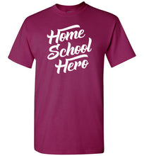 Load image into Gallery viewer, Homeschool Hero Short-Sleeve T-Shirt-T-Shirt-PureDesignTees