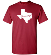 Load image into Gallery viewer, Texas Motto Short-Sleeve T-Shirt, T-Shirt - PureDesignTees