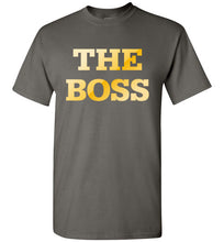 Load image into Gallery viewer, The Boss Short Sleeve 100% Cotton T-Shirt, T-Shirt - PureDesignTees