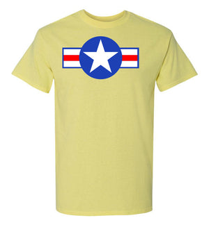 Air Force Roundel Short-Sleeve T-Shirt - PureDesignTees