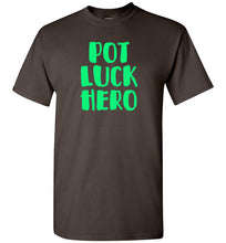 Load image into Gallery viewer, Pot Luck Hero Short-Sleeve T-Shirt-T-Shirt-PureDesignTees