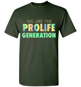 We are the Prolife Generation Short-Sleeve T-Shirt-T-Shirt-PureDesignTees