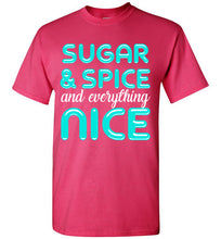 Load image into Gallery viewer, Sugar & Spice and Everything Nice Youth T-Shirt-T-Shirt-PureDesignTees