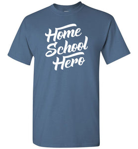 Homeschool Hero Short-Sleeve T-Shirt-T-Shirt-PureDesignTees