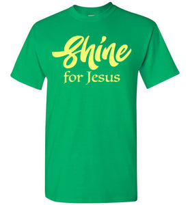 Shine for Jesus Short-Sleeve T-Shirt-T-Shirt-PureDesignTees