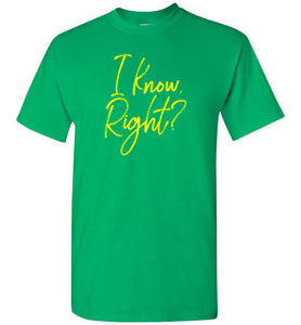 I Know Right? Youth Short-Sleeve T-Shirt - PureDesignTees