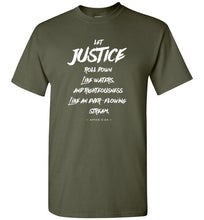Load image into Gallery viewer, Let Justice Roll Down Short-Sleeve T-Shirt-T-Shirt-PureDesignTees