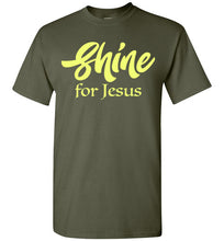 Load image into Gallery viewer, Shine for Jesus Short-Sleeve T-Shirt-T-Shirt-PureDesignTees