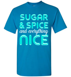 Sugar & Spice and Everything Nice Youth T-Shirt-T-Shirt-PureDesignTees
