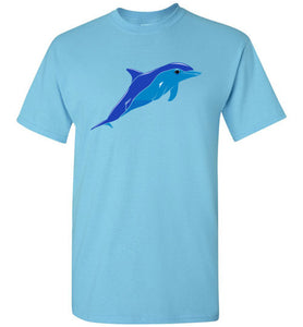 Dolphin Youth Short-Sleeve T-Shirt-T-Shirt-PureDesignTees