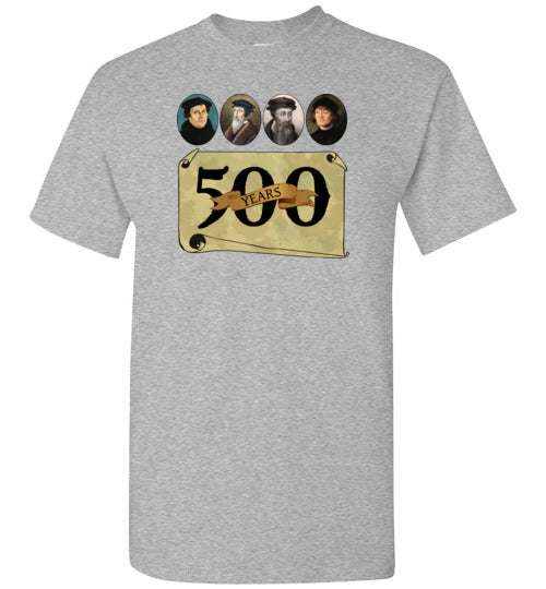 Reformation 500 Year Anniversary Short-Sleeve T-Shirt - PureDesignTees