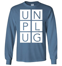 Load image into Gallery viewer, Unplug Long-Sleeve T-Shirt-Long sleeve t-shirt-PureDesignTees