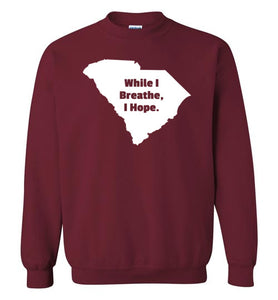 South Carolina Motto Crewneck Sweatshirt-Sweatshirt-PureDesignTees