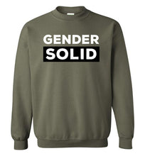 Load image into Gallery viewer, Gender Solid Crewneck Sweatshirt-Sweatshirt-PureDesignTees