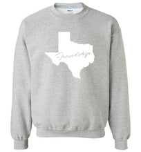 Load image into Gallery viewer, Texas Motto Crewneck Sweatshirt-Sweatshirt-PureDesignTees