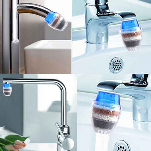 Mini Home Kitchen Faucet Tap Purifier with Activated Carbon-Kitchen & Dining-PureDesignTees