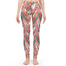Load image into Gallery viewer, Birds of Paradise Women's Yoga Pant-cloth-PureDesignTees