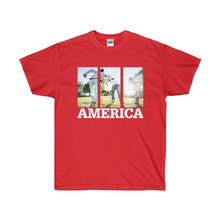 Load image into Gallery viewer, This is America - Children Running Unisex Ultra Cotton Tee-T-Shirt-PureDesignTees