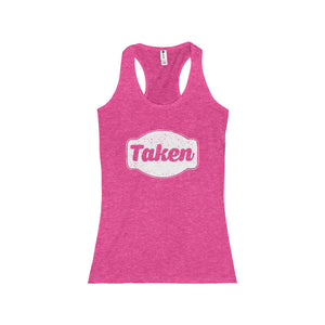 Taken Junior Racerback Tank-Tank Top-PureDesignTees