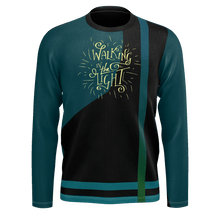 Load image into Gallery viewer, Walking in the Light Abstract Long Sleeve Jersey-Long sleeve t-shirt-PureDesignTees