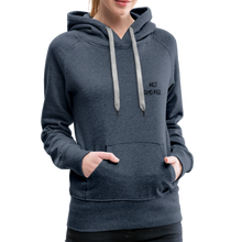 Load image into Gallery viewer, Wild and Free Tiger Women's Premium Hoodie-Women's Premium Hoodie-PureDesignTees
